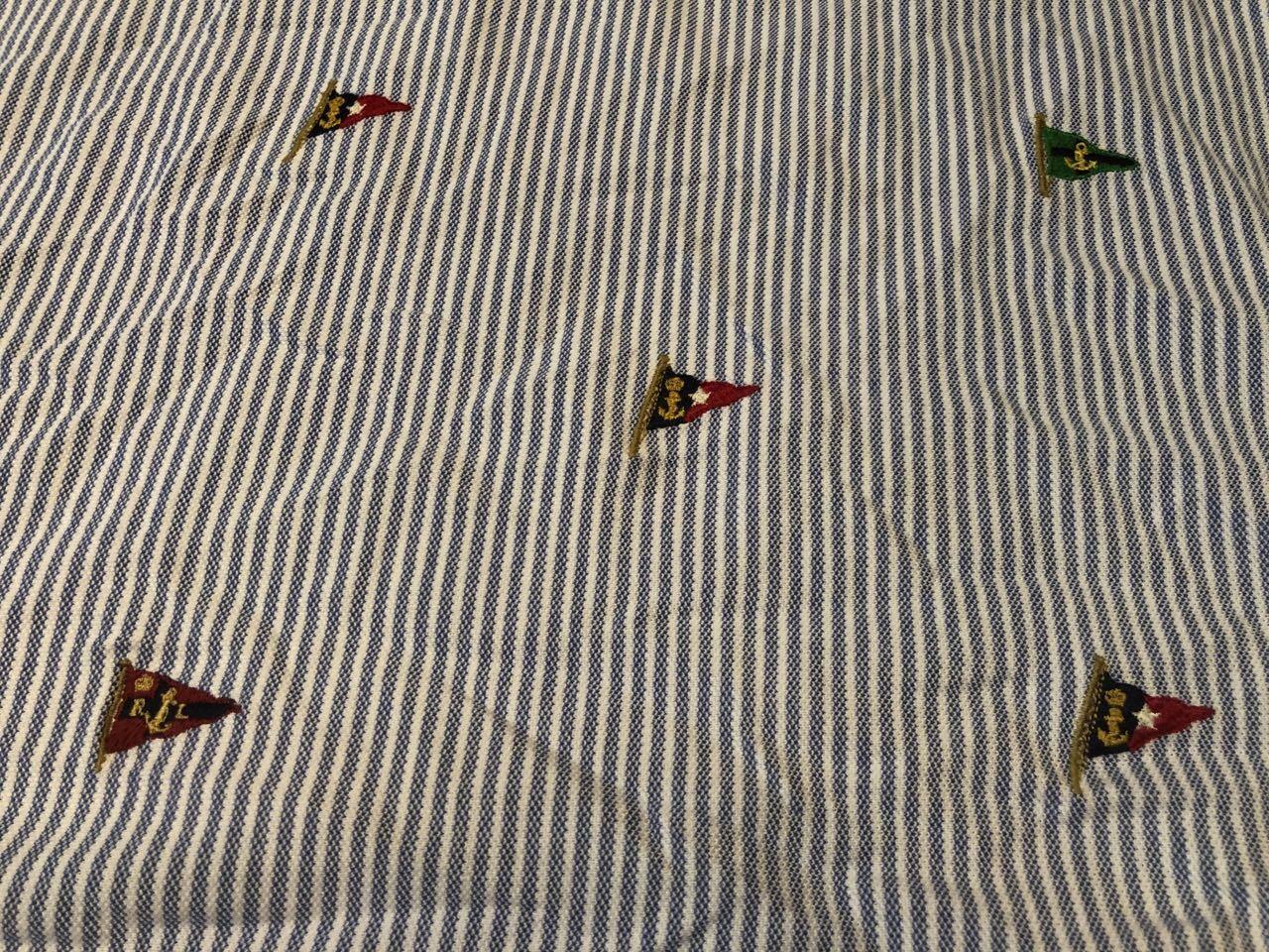 5/30(土)入荷!Ralph Lauren ラルフローレン プルオーバー ストライプ ボタンダウンシャツ!_c0144020_13555687.jpg