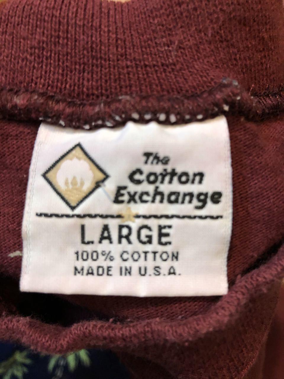 5/30(土)入荷! 90s  The cotton Exchange  NEW MEXICO STATE all cotton  Tシャツ!Made in U.S.A!_c0144020_13573752.jpg