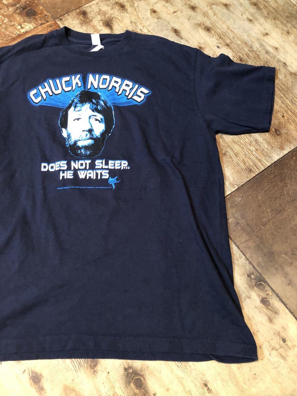 CHUCK NORRIS  チャックノリス Tシャツ!_c0144020_14005757.jpg