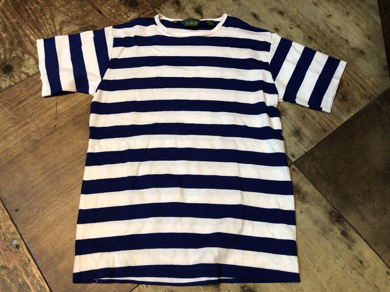 90s アメリカ製  J. CREW  J.クルー ボーダーTシャツ!_c0144020_14081820.jpg