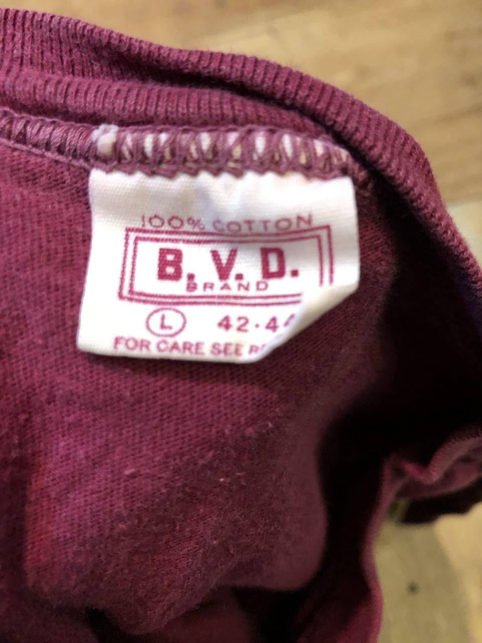 5/30(土)入荷!70s  B.V.D ポケットTシャツ!_c0144020_14144085.jpg