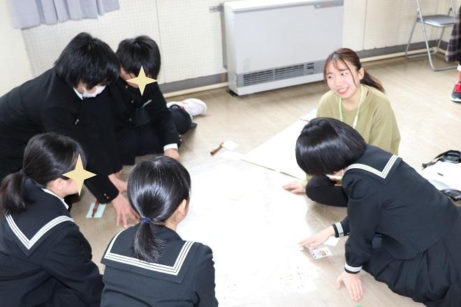 三条市立第二中学校においてワークショップを行いました_c0167632_16104051.jpg