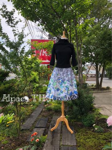 新作 麻のスカート入荷しました_d0187468_13123744.jpg