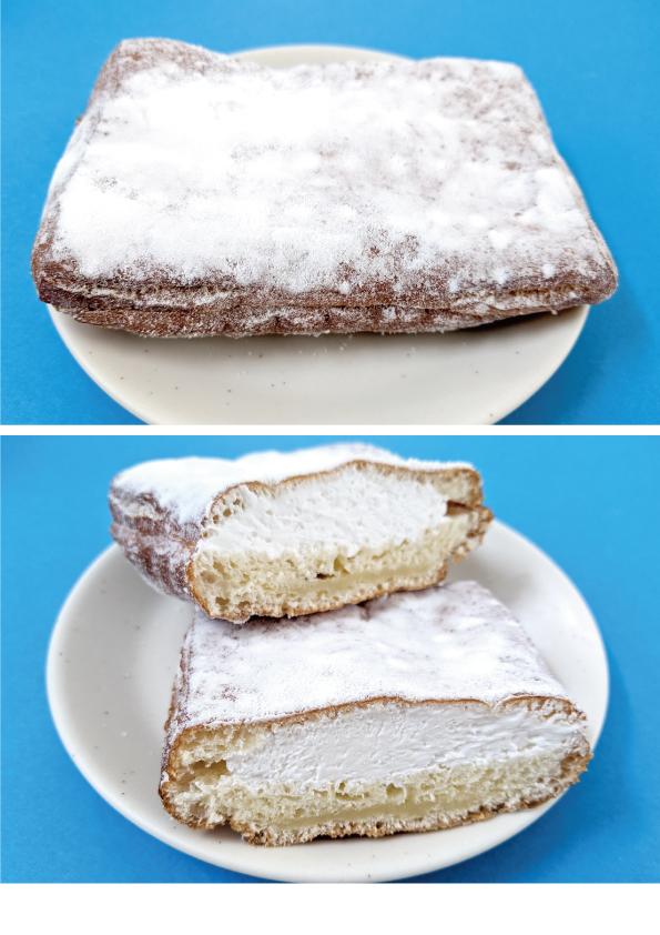 【袋ドーナツ】山崎製パン「サンベニエ」【しっとりかためでおいしい〜】_d0272182_14320309.jpg