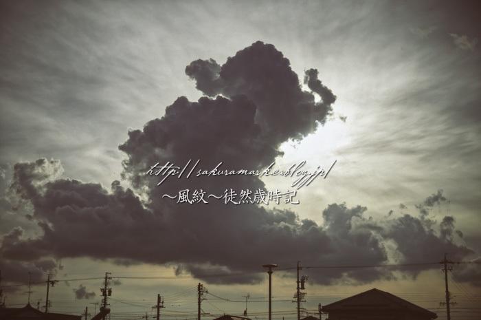 夕空に発達する積雲。_f0235723_20551136.jpg