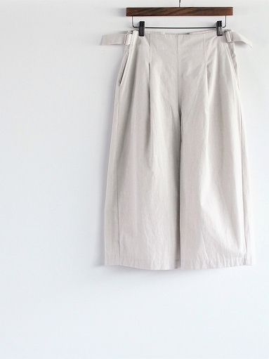 THE HINOKI Cotton Bafu OSFA Wide Half Pants / Oatmeal_b0139281_1327363.jpg
