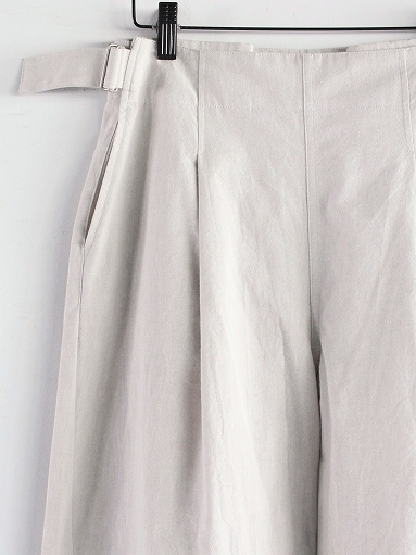 THE HINOKI Cotton Bafu OSFA Wide Half Pants / Oatmeal_b0139281_1327899.jpg