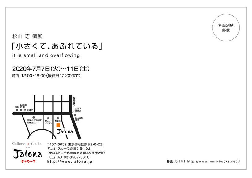 杉山 巧 個展「小さくて、あふれている」_b0197084_15304812.jpeg