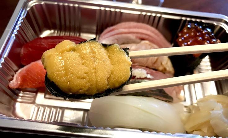 「魚男・磨き」のお寿司とシャンパーニュ♪_c0212604_1327228.jpg