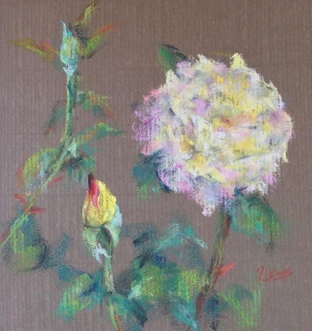 黄色いバラ_c0236929_02343642.jpg
