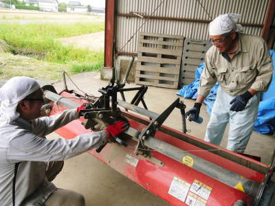 無農薬栽培の米粉、発芽玄米、雑穀米大好評発売中!「健康農園」さんの令和2年度の米作りがスタート!_a0254656_19353943.jpg