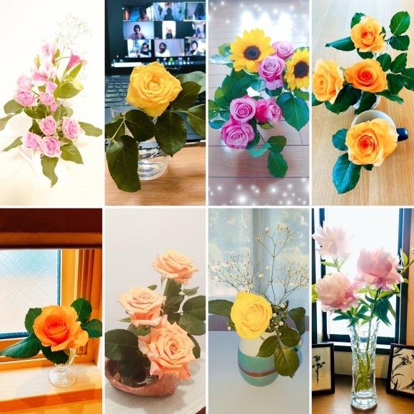 ZOOM お花教室🌼花楽_c0195362_21403721.jpeg