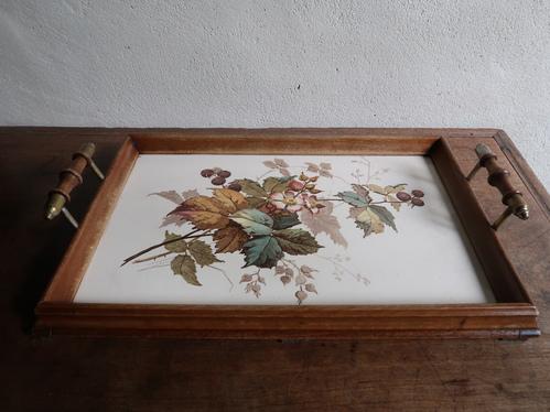 陶板のトレイ_b0113868_17135257.jpg