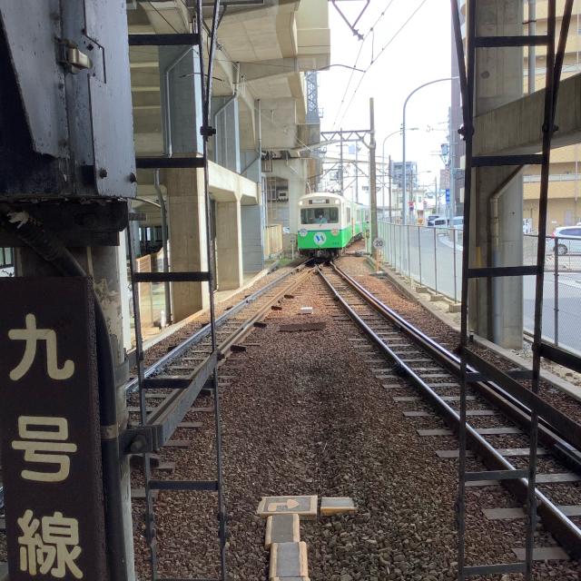 四日市あすなろう鉄道に乗ってナローゲージの小さな旅。_a0334793_14260907.jpg