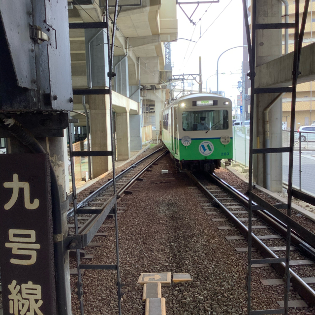 四日市あすなろう鉄道に乗ってナローゲージの小さな旅。_a0334793_14261652.jpg