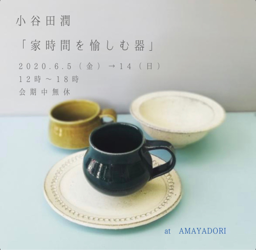 小谷田潤「家時間を愉しむ器」_f0212293_12015335.jpg