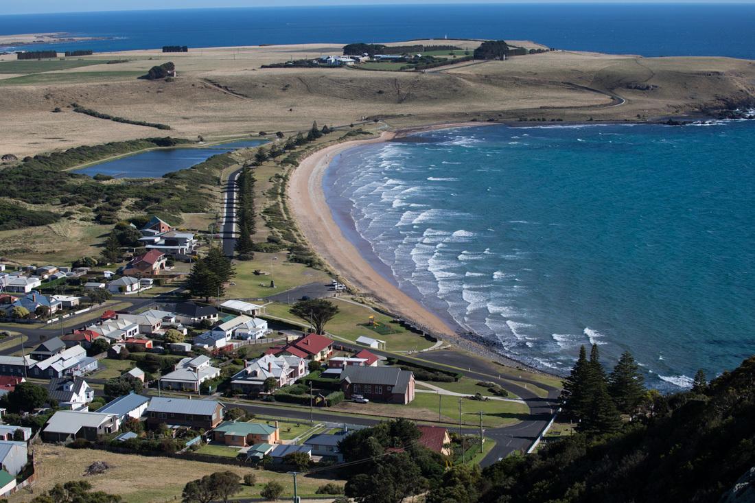 Stanleyの町 遠浅の波の模様 <タスマニア>_c0248100_19160353.jpg