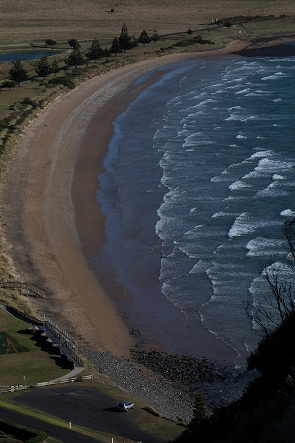 Stanleyの町 遠浅の波の模様 <タスマニア>_c0248100_19160364.jpg