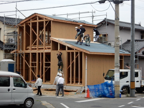「Wcasa戸建」(車いすが使える賃貸住宅)新築中_d0130212_10030355.jpg