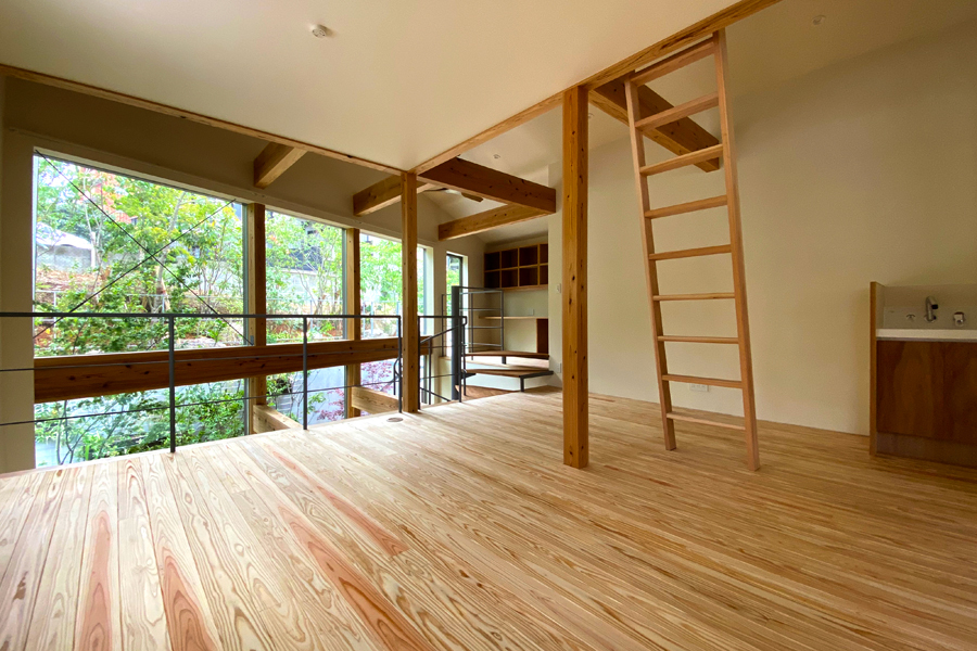 『都市型空中庭園の家』のオープンハウスを開催します。_e0029115_15322197.jpg
