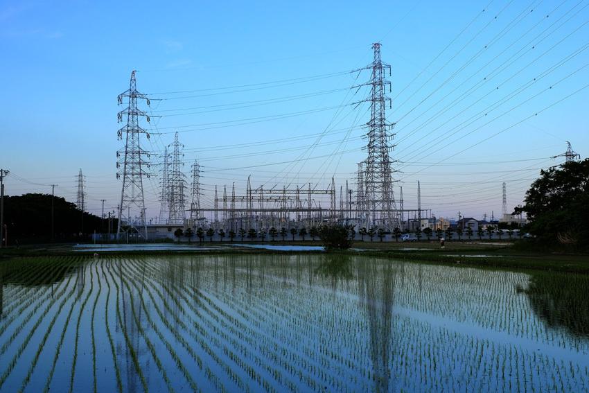 水田と鉄塔と・・・過去写真から_e0243382_07170227.jpg