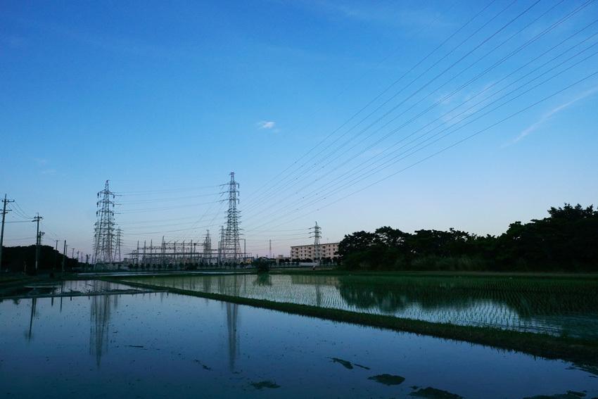 水田と鉄塔と・・・過去写真から_e0243382_07171131.jpg