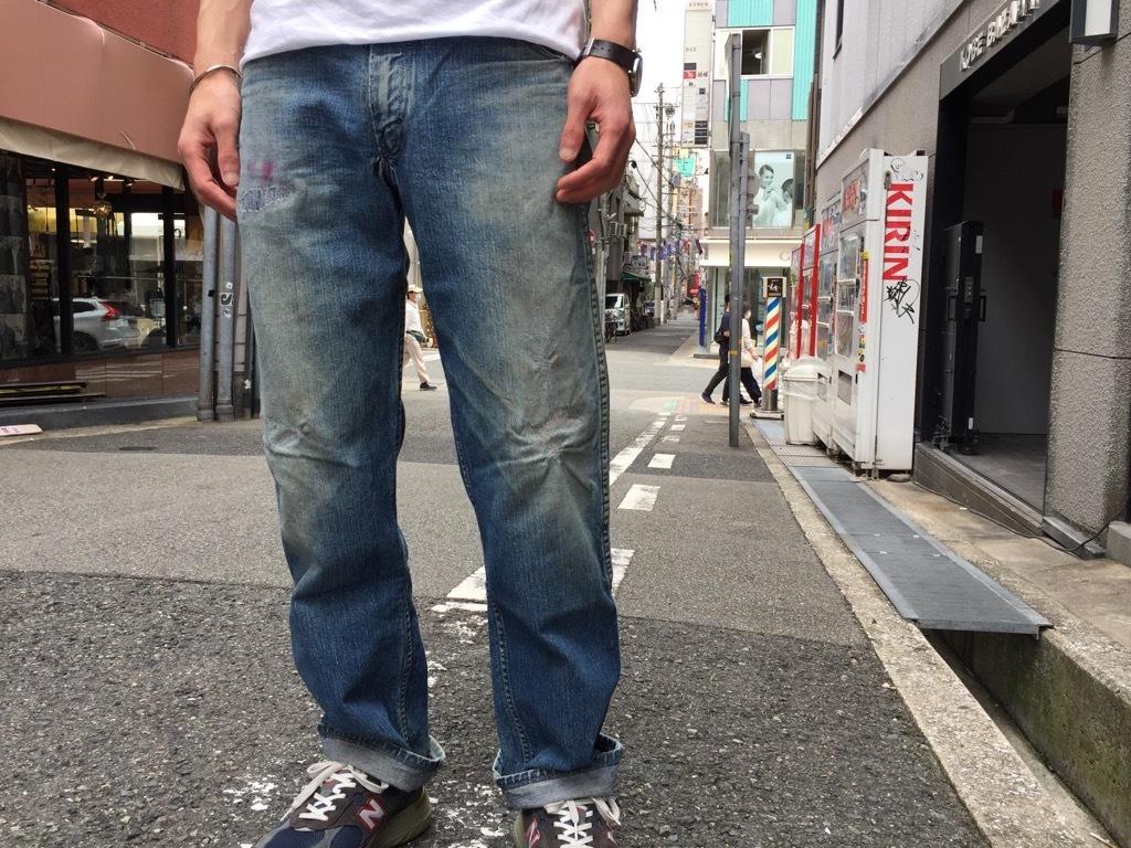 マグネッツ神戸店 6/3(水)Vintage Bottoms入荷! #4 5Pocket Blue Jeans!!!_c0078587_18152687.jpg