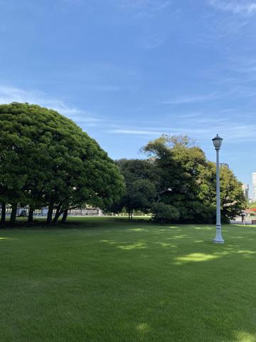赤坂迎賓館前休憩所_f0038600_20115022.jpg