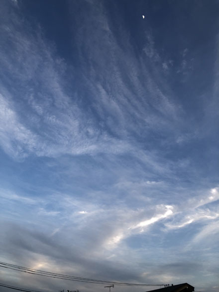 空と三日月と_b0183404_08083761.jpg