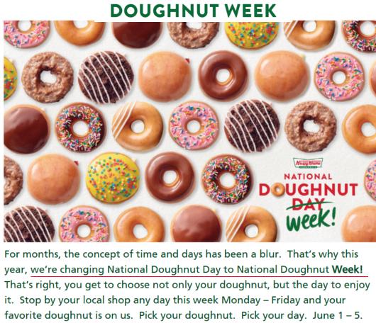 6月の第一金曜日(6/5)、米国ではナショナル・ドーナツ・デー(National Doughnut Day)_b0007805_04282245.jpg