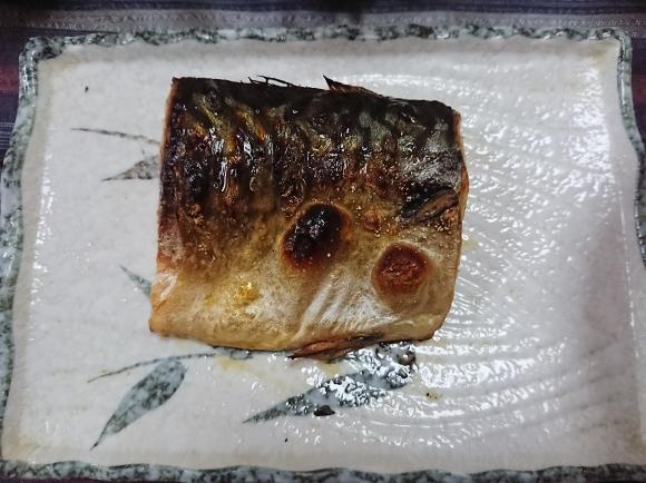 6/2 焼塩鯖めかぶ大葉浅漬けご飯定食@自宅_b0042308_11103625.jpg