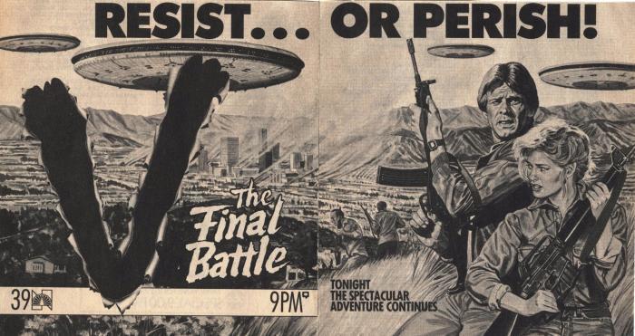 V (1983) & V: THE FINAL BATTLE (1984)_c0047930_17203028.jpg