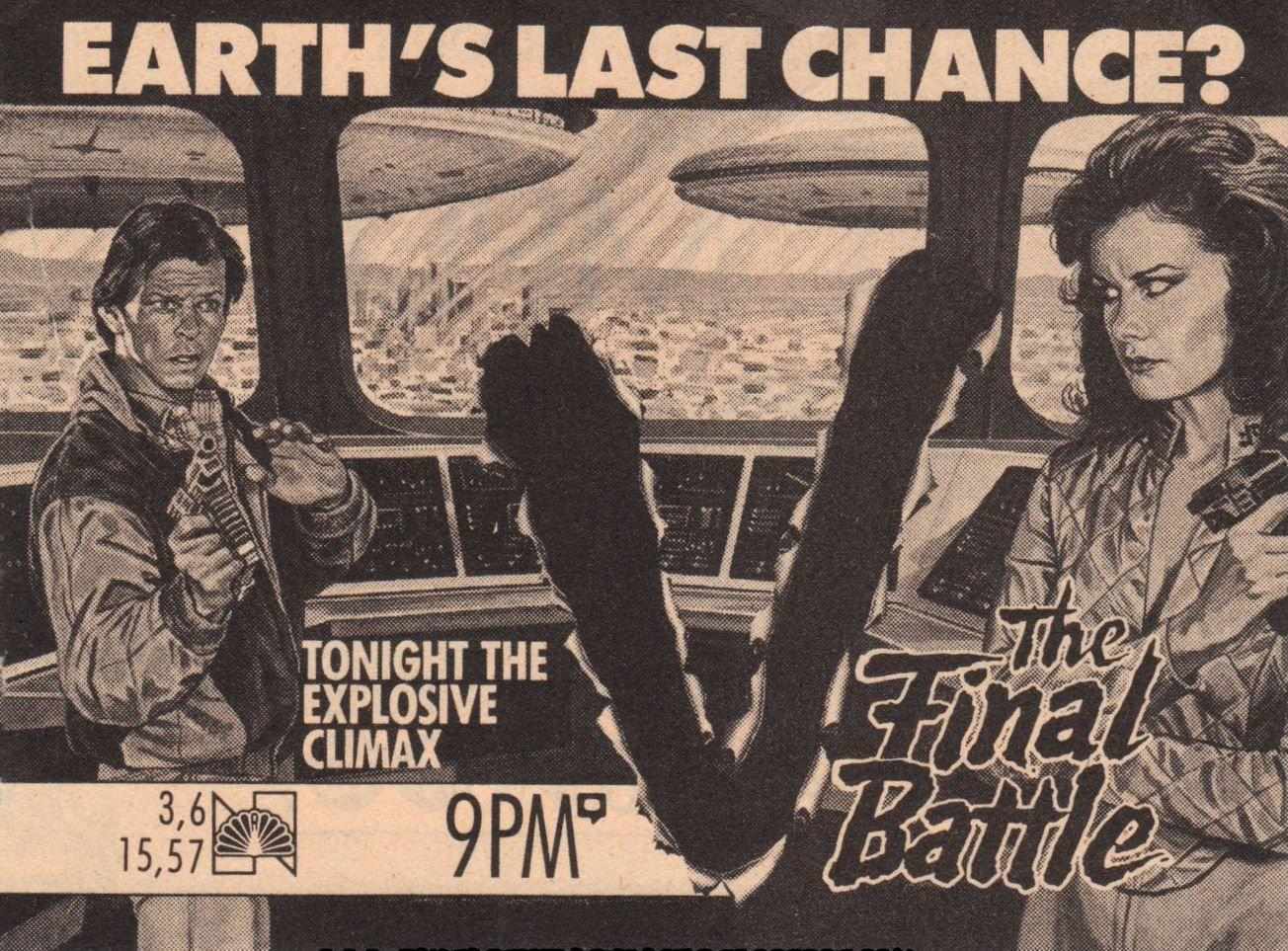 V (1983) & V: THE FINAL BATTLE (1984)_c0047930_17204252.jpg