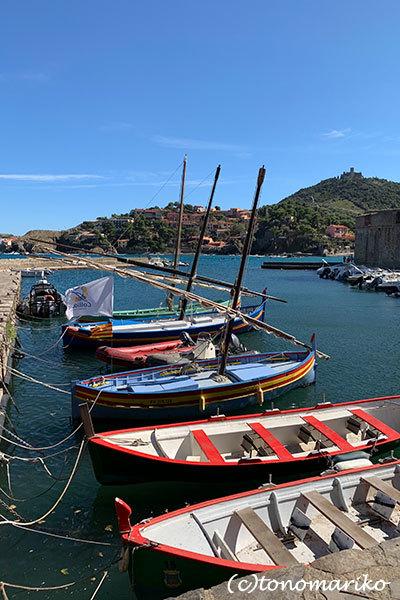 今年の夏はいつもより混雑するのかな?!南仏の海辺の町「コリウール」_c0024345_21350065.jpg