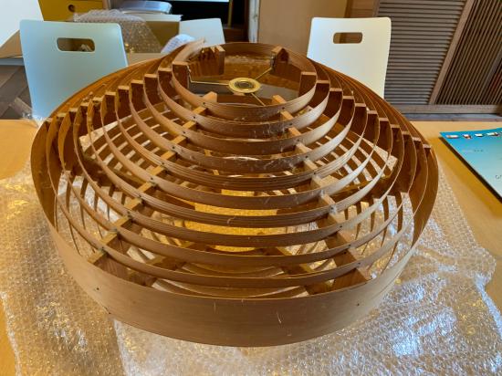 ヤコブセンランプ名作 JAKOBSSON LAMP 照明器具 修理 28_f0053665_13564117.jpg