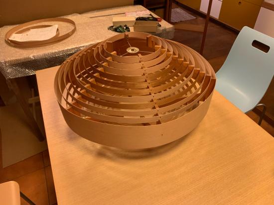 ヤコブセンランプ名作 JAKOBSSON LAMP 照明器具 修理 28_f0053665_13583463.jpg