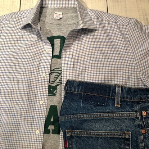 """1980s \"""" CHAMPION - Print TRICO tag - \"""" - ヒビ割れラバープリント - Vintage ATHLETIC TEE SHIRTS ._d0172088_18220735.jpg"""