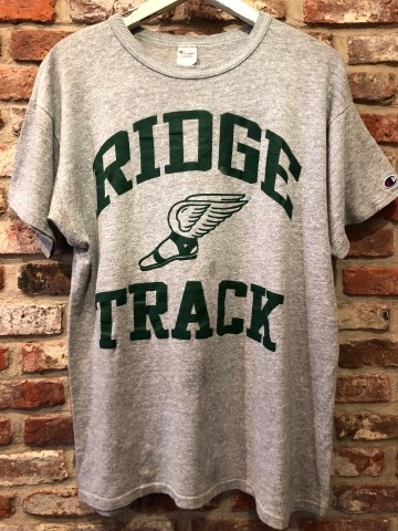"""1980s \"""" CHAMPION - Print TRICO tag - \"""" - ヒビ割れラバープリント - Vintage ATHLETIC TEE SHIRTS ._d0172088_19342025.jpg"""