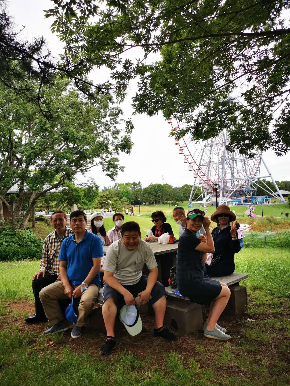 沿荒川骑车在葛西临海公园参加森林浴_d0007589_04344532.jpg