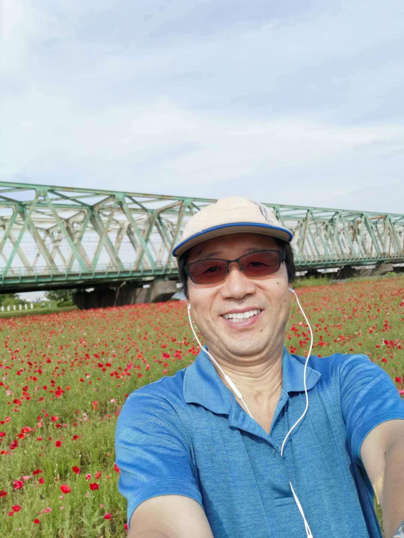 沿荒川骑车在葛西临海公园参加森林浴_d0007589_04440447.jpg