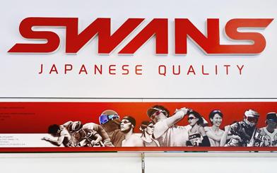 日本製スポーツサングラスSWANS(スワンズ)プレミアムショップ金栄堂 全型入荷&展示!_c0003493_16593509.jpg