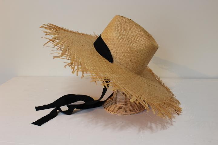 KISHIDAMIKI raffia hat _f0170424_22143262.jpg