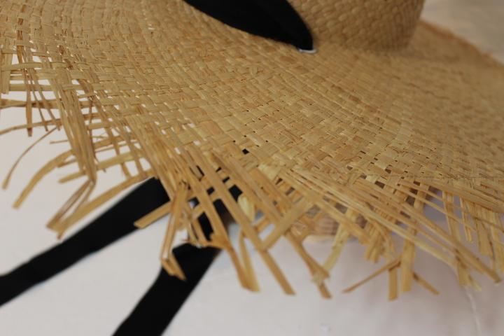 KISHIDAMIKI raffia hat _f0170424_22150949.jpg