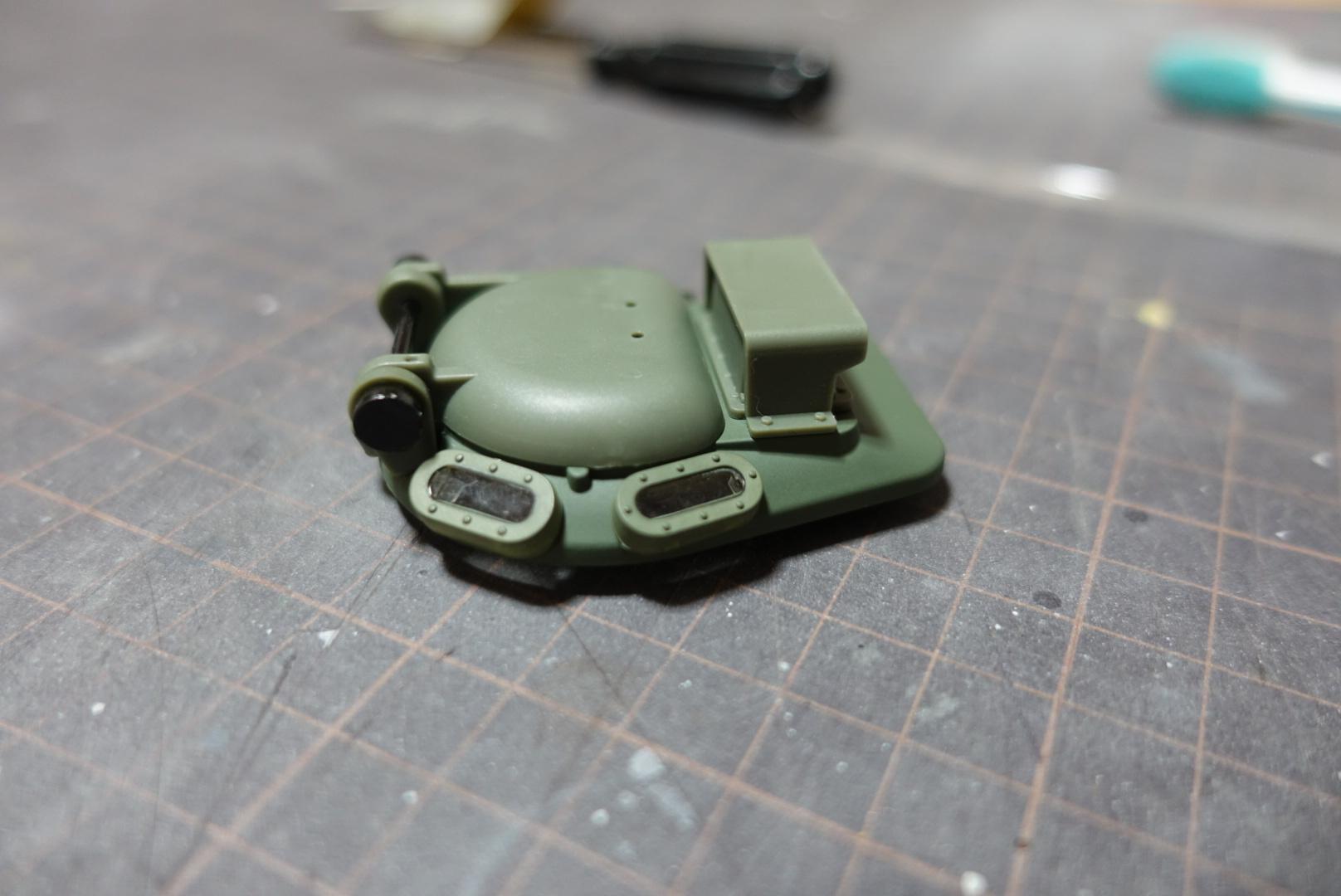 アシェット 74式戦車をつくる 2_a0352357_22343124.jpg