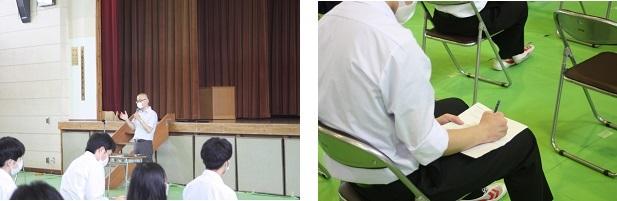 留学生のカタリナさんの帰国壮行会が行われました。_e0313769_16323790.jpg