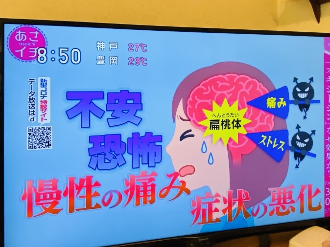 NHK『あさイチ』でオキシトシン特集。山口創先生がご登場!_b0228973_22235837.jpeg