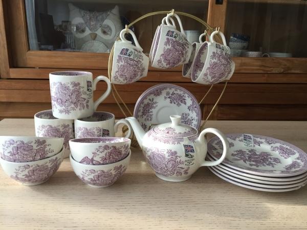【バーレイ陶器】アジアティックフェザンツ ブログで販売会_d0217479_00070171.jpg