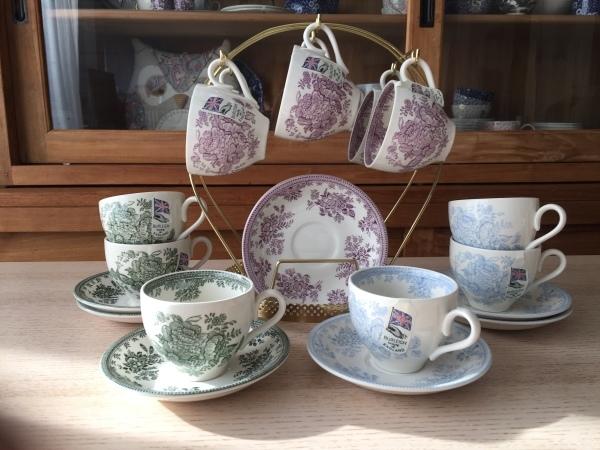 【バーレイ陶器】アジアティックフェザンツ ブログで販売会_d0217479_00072774.jpg
