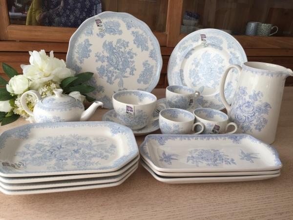 【バーレイ陶器】アジアティックフェザンツ ブログで販売会_d0217479_00082835.jpg