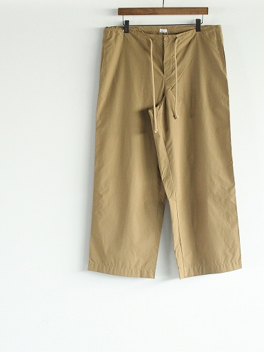 eleven 2nd Fine Cotton Nylon Wide Pants_b0139281_1423186.jpg